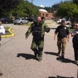 Rockland County Sheriff's Bomb Disposal Unit Responds To County Courthouse