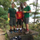 Suffern Boy Scouts Pitch In, Help Clean Up Harriman State Park