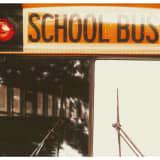 Car Hits School Bus Stop Sign, No Injuries, Police Say
