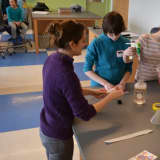 Student-Scientists Experiment At Westchester Community College