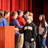 Sleepy Hollow MS Recognizes Honor Students, Those Who Sent Items To Troops