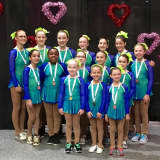 White Plains Skater Shines For Stamford Synchro Squad