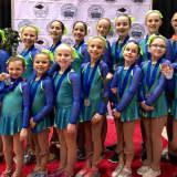 White Plains Girl Helps Synchronized Skating Team Win Medal