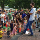 Parents, Children Enjoy Free Songs for Seeds Concert in Scarsdale