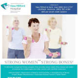 New Milford Hospital Has 'Strong Women Strong Bones' Fitness Programs