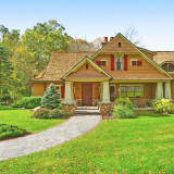 Experience 'Arts And Crafts' Style At Pound Ridge Storybook Home
