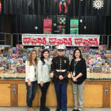 Yorktown's Brookside School Toy Donation Is Largest So Far