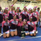 Cortlandt Spirit Stars Excel At Yorktown Cheerleading Competition