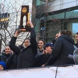 Fans Celebrate 4th Straight NCAA Title For UConn Women's Basketball Team
