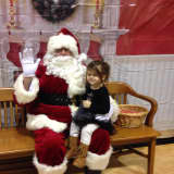 Santa Visits Saddle Brook's Long School For Cookies And Zumba