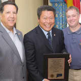 Firefighters Name Senator Hwang Of Westport As Co-Legislator Of The Year