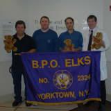 Yorktown Elks Lodge Donates Teddy Bears To White Plains Hospital