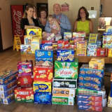 Tarrytown Rotary Fills Pantry At Ronald McDonald House