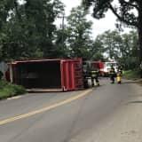 Travel Delays Continue Following Danbury Dump Truck Crash