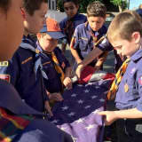 PHOTOS: Rutherford Scouts Honor Flag Day With Ceremony