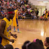 Harlem Wizards Facing Tarrytown Teachers