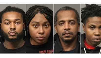 Prosecutor: Quartet ID'd In 30-Pound Pot Shipment Found With Stolen Gun In North Arlington