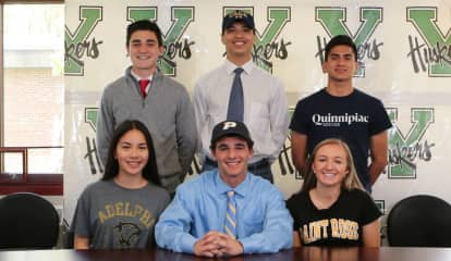Yorktown HS Student-Athletes Sign College Letters Of Intent
