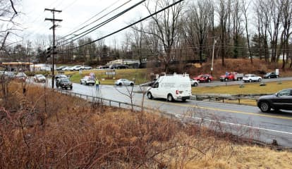 One Hospitalized In Two-Car Crash On Route 6N