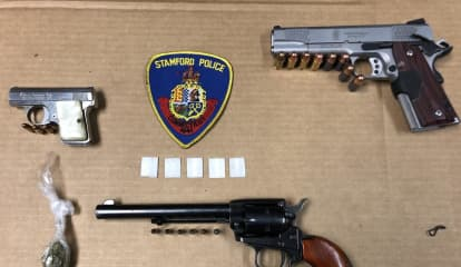 18-Month-Old Found In Vehicle During Stamford Illegal Gun Bust