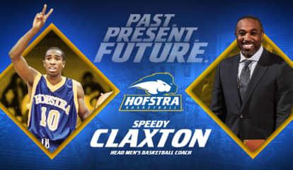 Hofstra Names Former Star Speedy Claxton As New Head Men's Basketball Coach