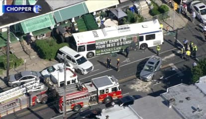 Crash Involving SEPTA Bus Injured 11 In Philadelphia