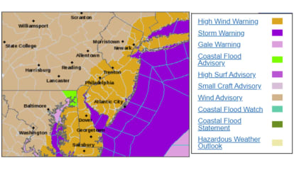 Tie Everything Down: Dangerous Winds Headed Our Way, Weather Service Says