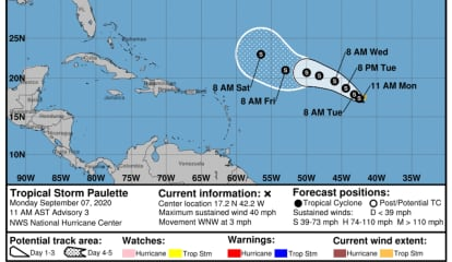 New Tropical Storm Forms In Atlantic: Here's Latest Projected Path