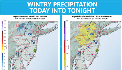 First Snow, Then Rain: New Forecasts Released For Sunday Storm