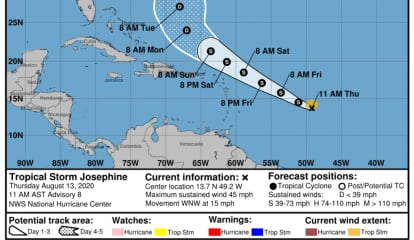 New Tropical Storm Forms In Atlantic: Here's Projected Five-Day Path