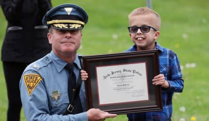Warren County 10-Year-Old Battling Rare Brain Disorder Appointed As Honorary NJ State Trooper