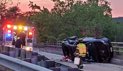 Driver Seriously Injured In Rollover Off Route 80