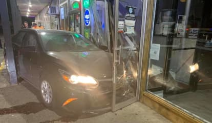 Drunk Driver Crashes Into Shop In Rockland, Police Say
