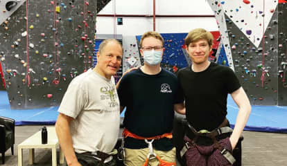 Woody Harrelson Spotted Rock Climbing In Hudson Valley