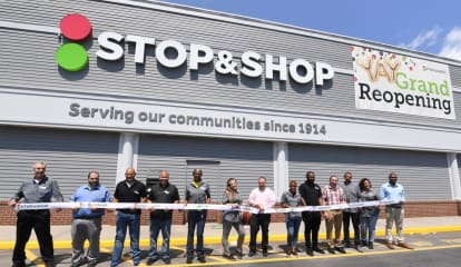 Stop & Shop Celebrates Grand Reopening Of Area Store