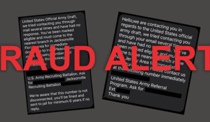 Fraud Alert: You Are Not Being Drafted, US Army Says