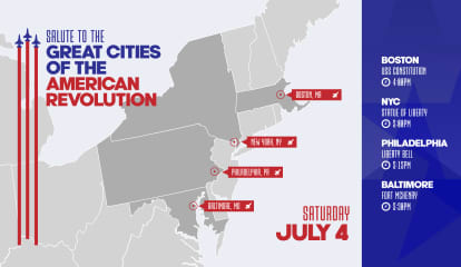 Spectacular Hudson River Flyover Planned As Part Of President's 4th Of July 'Salute To America'