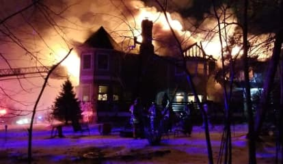 PHOTOS: Fire Ravages River Vale Home