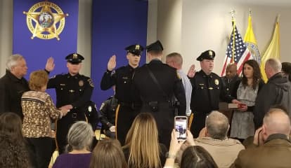New Bergen County Sheriff's Recruits, Inter-Governmental Transfers Sworn, Heroes Honored