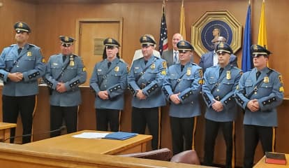 Seven Hackensack Police Officers Promoted To Sergeant