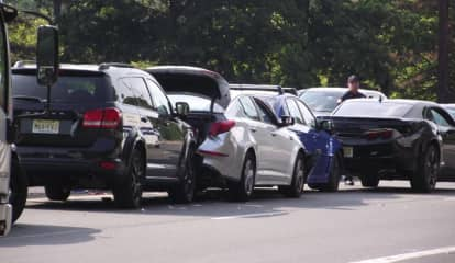 1 Hospitalized After 4 Car Crash On Route 208