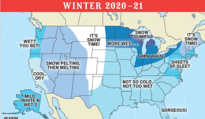 Winter Weather Outlook For Region Released By Farmers Almanacs