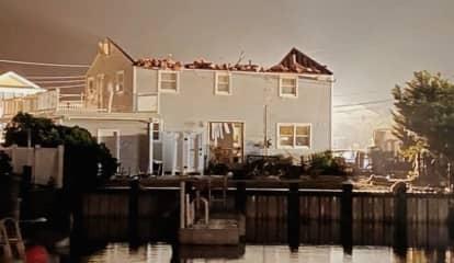 Suspected Tornado Rips Through Jersey Shore Town