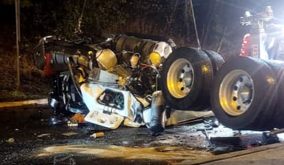 NJSP: Tractor-Trailer Driver From Jersey Shore Killed In Horrific Route 287 Crash
