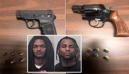 Passaic Sheriff's Officers Nab Paterson Pair With Loaded Guns In Predawn Pullover