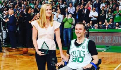 Boston Celtics Name Bergen County Runner, Paralyzed Boyfriend 'Heroes'