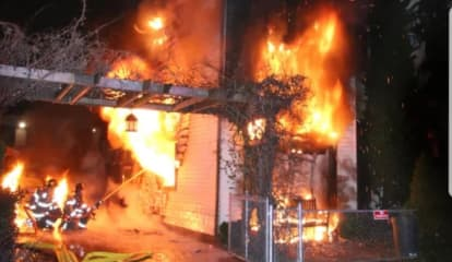 Community Rallies For 2 Families Displaced In Wallington Fire