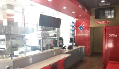 Spy On Your Pizza Being Made At Ridgefield Park Domino's Theater