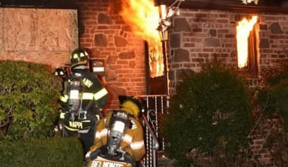 Rekindled Fire Guts Fair Lawn House