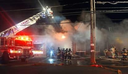 Three-Alarm Fire Damages Deli In Danbury
